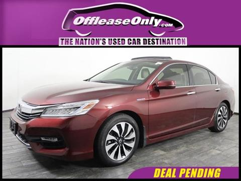 2017 Honda Accord Hybrid for sale in Miami, FL