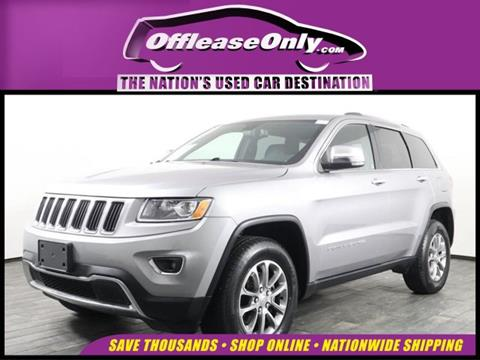 2016 Jeep Grand Cherokee for sale in Miami, FL