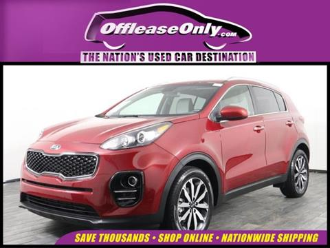 2017 Kia Sportage for sale in Miami, FL