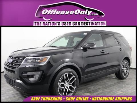 2016 Ford Explorer for sale in Miami, FL