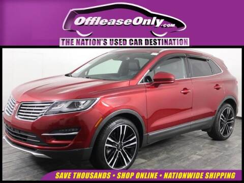 2017 Lincoln MKC Reserve for sale at OffLeaseOnly.com The Nation's Used Car Destination in Miami FL