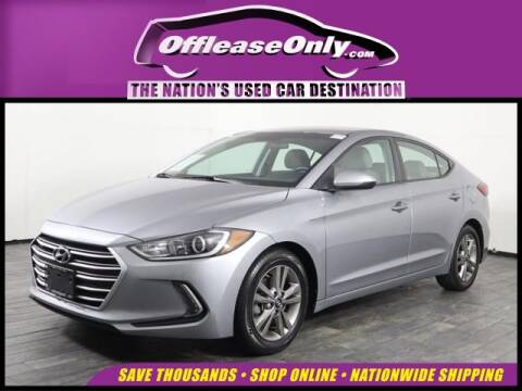 2017 Hyundai Elantra for sale at OffLeaseOnly.com The Nation's Used Car Destination in Miami FL