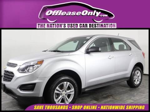 2017 Chevrolet Equinox LS for sale at OffLeaseOnly.com The Nation's Used Car Destination in Miami FL