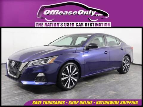 2019 Nissan Altima 2.5 SR for sale at OffLeaseOnly.com The Nation's Used Car Destination in Miami FL