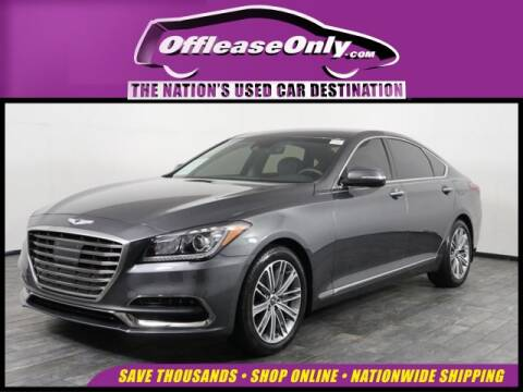 2019 Genesis G80 for sale at OffLeaseOnly.com The Nation's Used Car Destination in Miami FL