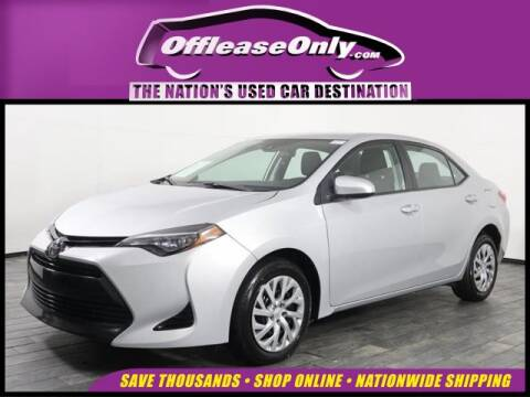 2018 Toyota Corolla for sale at OffLeaseOnly.com The Nation's Used Car Destination in Miami FL