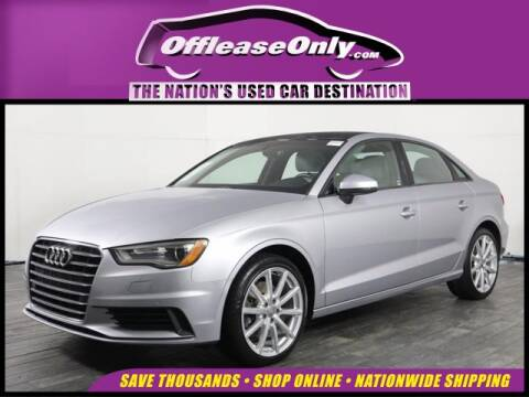 2016 Audi A3 1.8T Premium for sale at OffLeaseOnly.com The Nation's Used Car Destination in Miami FL