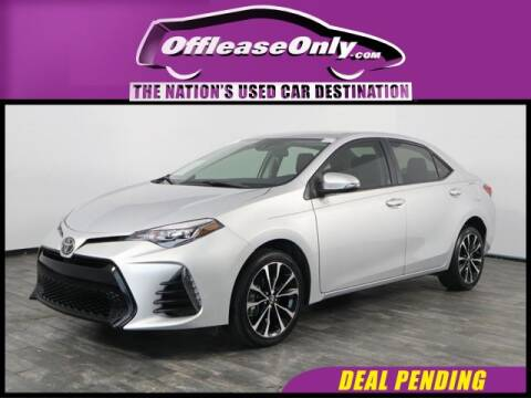 2019 Toyota Corolla for sale at OffLeaseOnly.com The Nation's Used Car Destination in Miami FL