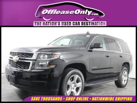 2016 Chevrolet Tahoe LT for sale at OffLeaseOnly.com The Nation's Used Car Destination in Miami FL