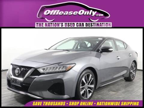 2019 Nissan Maxima for sale at OffLeaseOnly.com The Nation's Used Car Destination in Miami FL