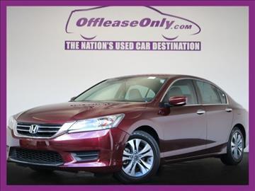 2013 Honda Accord for sale in Miami, FL
