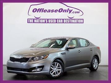 2013 Kia Optima for sale in Miami, FL