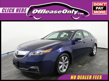 2013 Acura TL for sale in Miami, FL