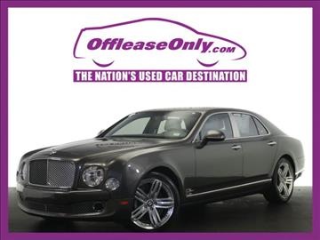 2011 Bentley Mulsanne for sale in Miami, FL