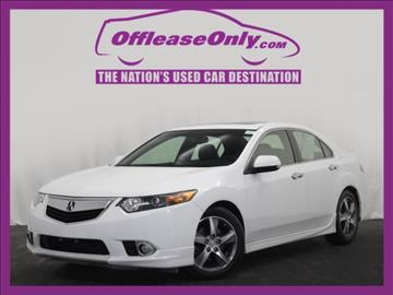 2013 Acura TSX for sale in Miami, FL