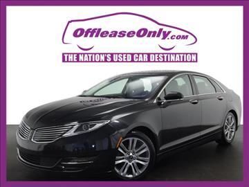2014 Lincoln MKZ Hybrid for sale in Miami, FL