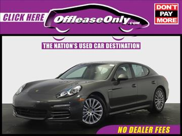 2014 porsche panamera for sale in miami fl - Porsche Panamera Turbo 2014 White