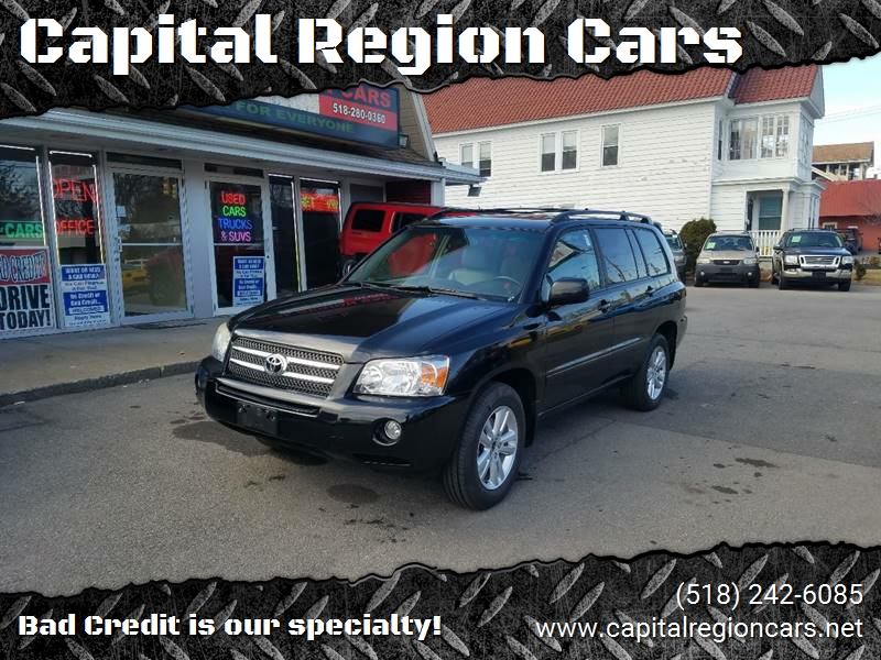 2006 toyota highlander hybrid limited in schenectady ny capital region cars. Black Bedroom Furniture Sets. Home Design Ideas