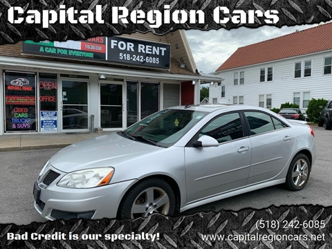 2010 Pontiac G6 for sale in Schenectady, NY