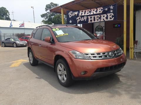 2005 Nissan Murano for sale at ASHE AUTO SALES, LLC. in Dallas TX