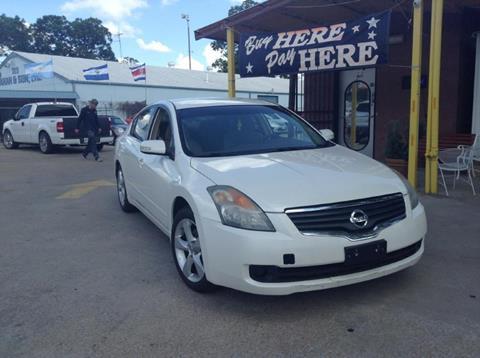 2008 Nissan Altima for sale at ASHE AUTO SALES, LLC. in Dallas TX