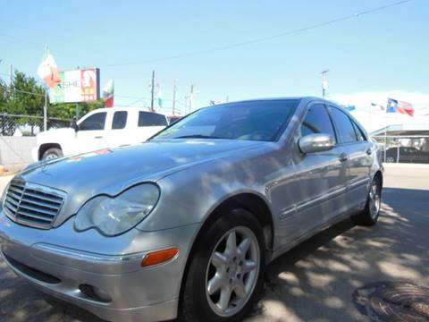 2001 Mercedes-Benz C-Class for sale in Dallas, TX