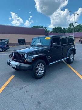 2012 Jeep Wrangler Unlimited for sale in Dalton, GA