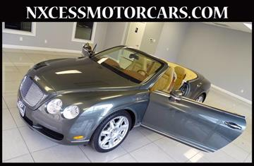 2009 Bentley Continental GTC for sale in Houston, TX