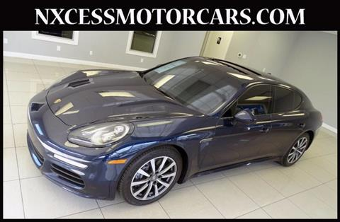 2016 Porsche Panamera for sale in Houston, TX
