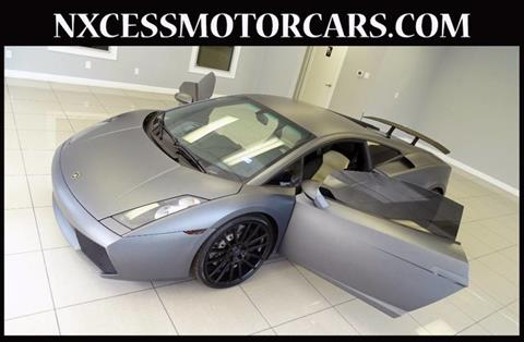 2008 Lamborghini Gallardo for sale in Houston, TX
