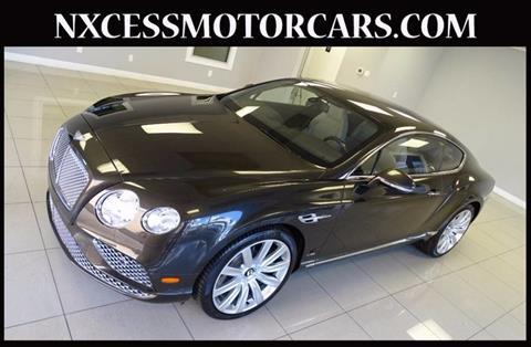 2016 Bentley Continental GT for sale in Houston, TX