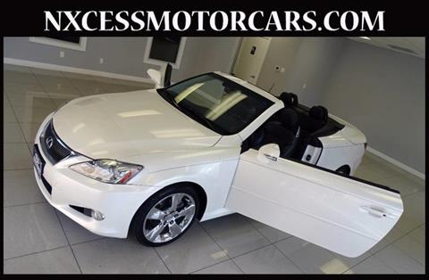 2010 Lexus IS 250C for sale in Houston, TX