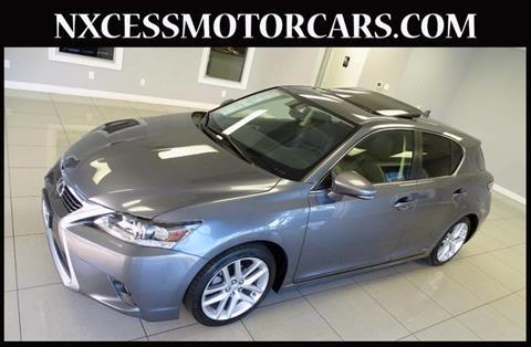 2015 Lexus CT 200h for sale in Houston, TX