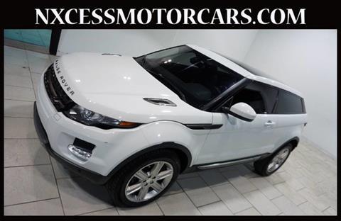 Land Rover Range Rover Evoque Coupe For Sale Carsforsale Com