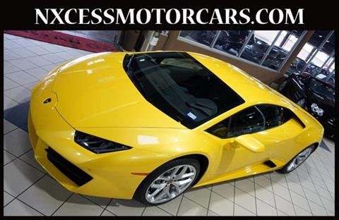 Used Lamborghini Huracan For Sale In Houston Tx Carsforsale Com