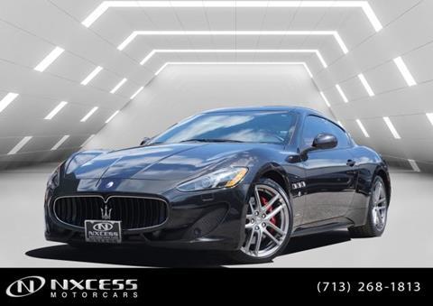 2015 Maserati GranTurismo for sale in Houston, TX