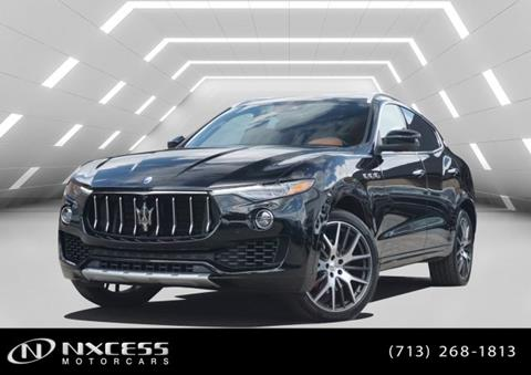 2017 Maserati Levante for sale in Houston, TX