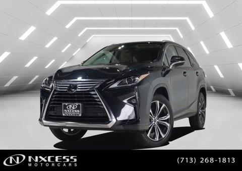 2019 Lexus RX 350L for sale in Houston, TX