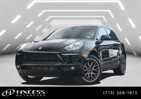 2018 Porsche Macan for sale in Houston, TX