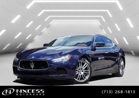 2017 Maserati Ghibli for sale in Houston, TX