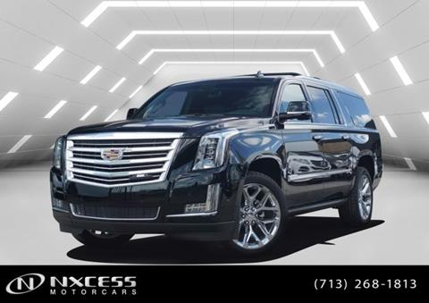 2019 Cadillac Escalade ESV for sale in Houston, TX