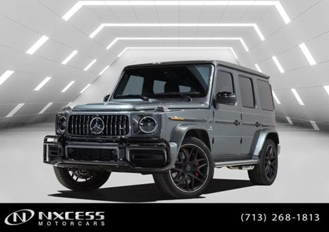 2019 Mercedes-Benz G-Class for sale in Houston, TX