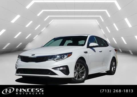 2020 Kia Optima for sale in Houston, TX