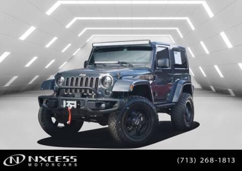 2018 Jeep Wrangler JK for sale in Houston, TX