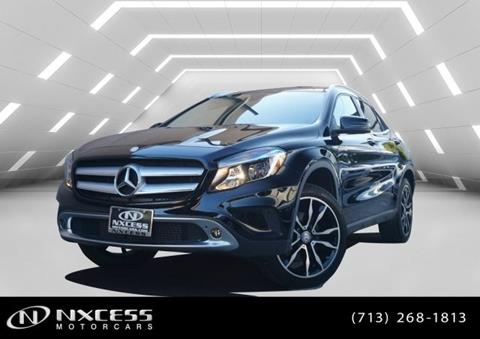 2016 Mercedes-Benz GLA for sale in Houston, TX