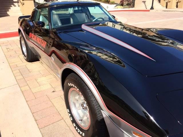 1978 Chevrolet Corvette PACE CAR - San Bruno CA