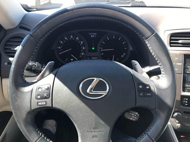 2010 Lexus IS 250 4dr Sedan 6A - San Bruno CA