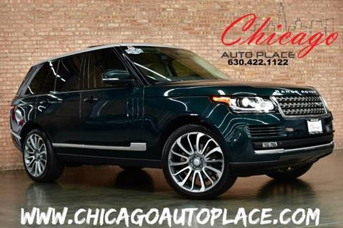 2015 Land Rover Range Rover for sale in Bensenville, IL
