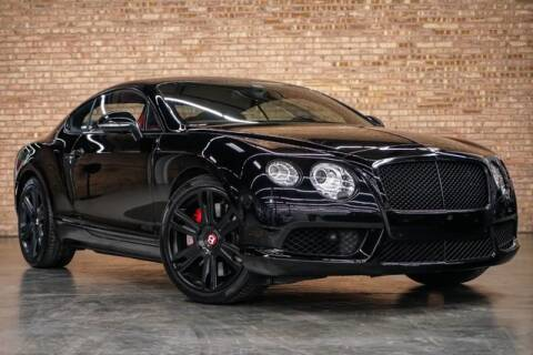 2015 Bentley Continental GT V8 for sale at Chicago Auto Place in Bensenville IL
