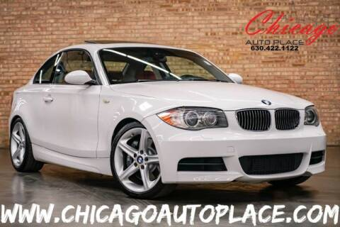 2008 BMW 1 Series 135i for sale at Chicago Auto Place in Bensenville IL